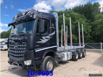 MERCEDES-BENZ Arocs 3263 8x4 Retarder Big Axle - prevoz lesa