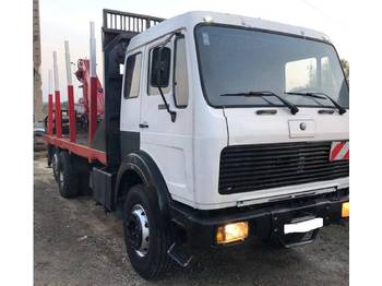 Mercedes-Benz 2226 6X2 timber truck + crane - prevoz lesa