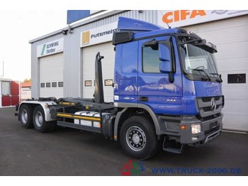Mercedes-Benz Actros 2644 6x4 Meiller RK 20.67 20 to. 1.Hand - kotalni prekucni tovornjak