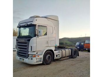 SCANIA R 420 left hand drive manual RETARDER - vlačilec